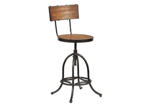Architect Bench Finish Stool w/Blackened Bronze Legs