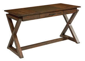 Sawbuck Desk, Barndoor Finish