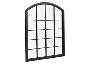 Warehouse Kettle Window Frame w/Mirror