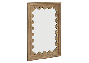 Tracery Salvage Finish Wall Mirror