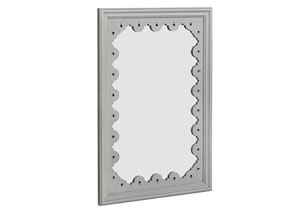 Tracery Wren Finish Wall Mirror