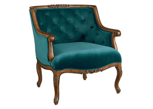 Bloom Chair, Teal