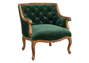 Bloom Chair, Emerald