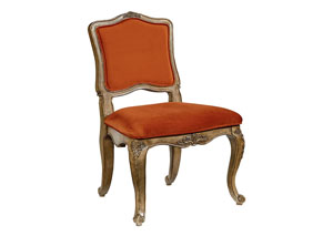 Flora Accent Chair, Saffron