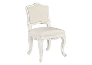 Youth Flora Accent Chair, Jo's White/Alabaster