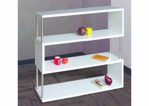 Image for Sidewinder White  4-Tier Wall Unit