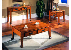 Image for Prairie Antique Oak 3Pc Occasional Table Set