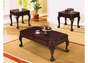 Image for Yorkshire Walnut 3Pc Occasional Table Set