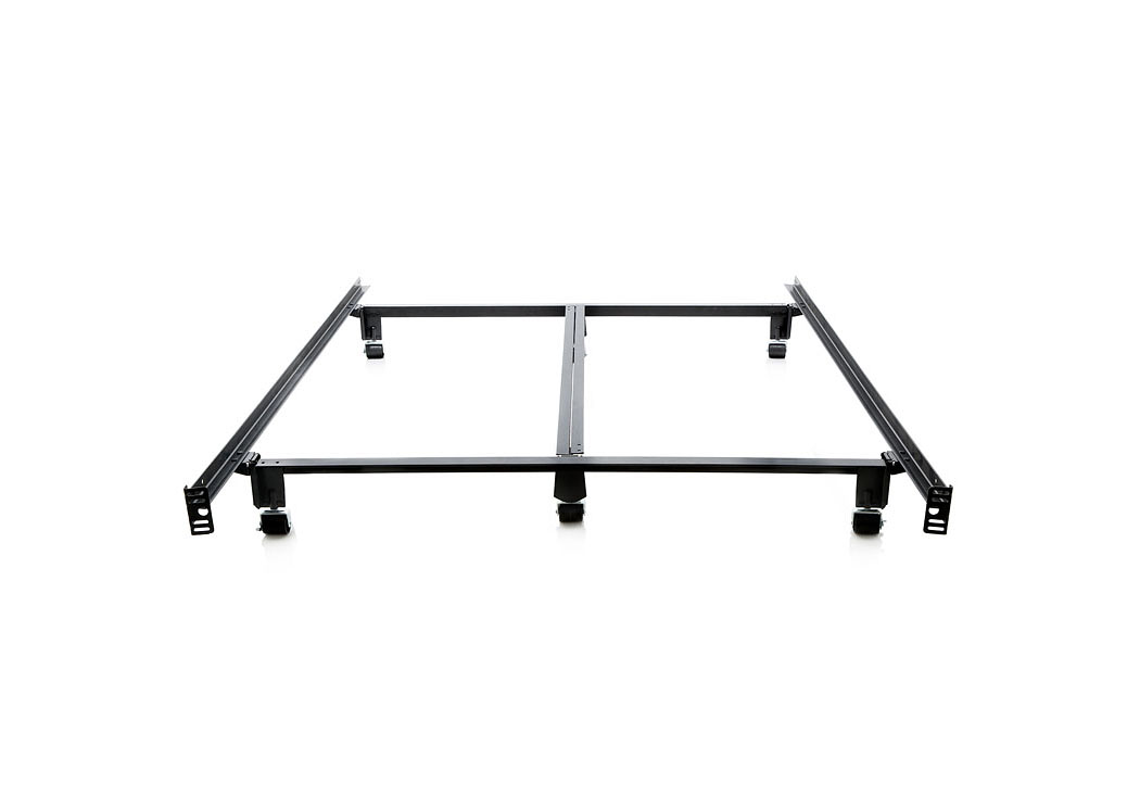 Structures California King Steelock Super Duty Steel Wedge Lock Metal Bed Frame,ABF Malouf