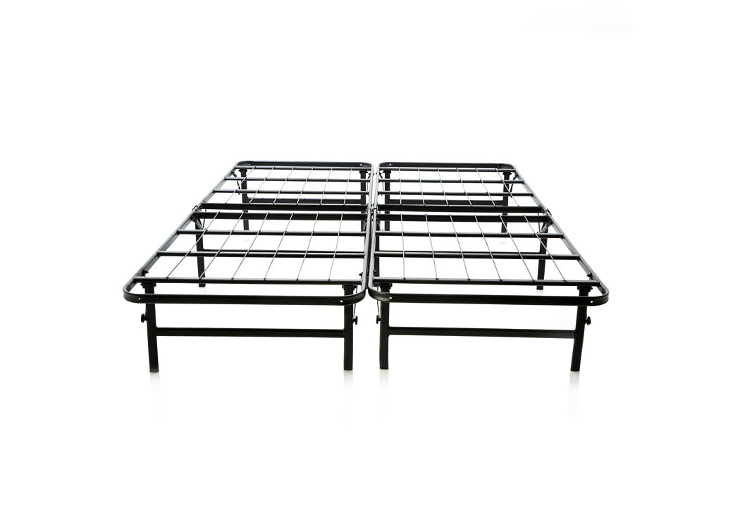 Structures Queen Highrise Folding Metal Bed Frame ,ABF Malouf