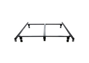 Structures Full Steelock Super Duty Steel Wedge Lock Metal Bed Frame