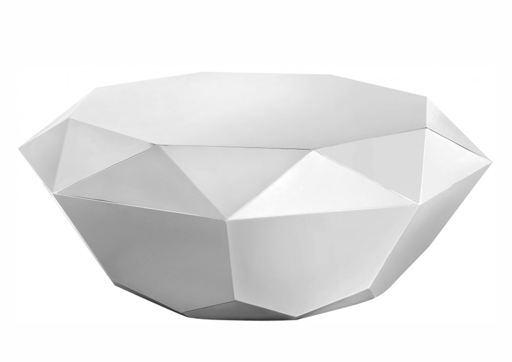 Gemma Silver Coffee Table,Meridian Furniture