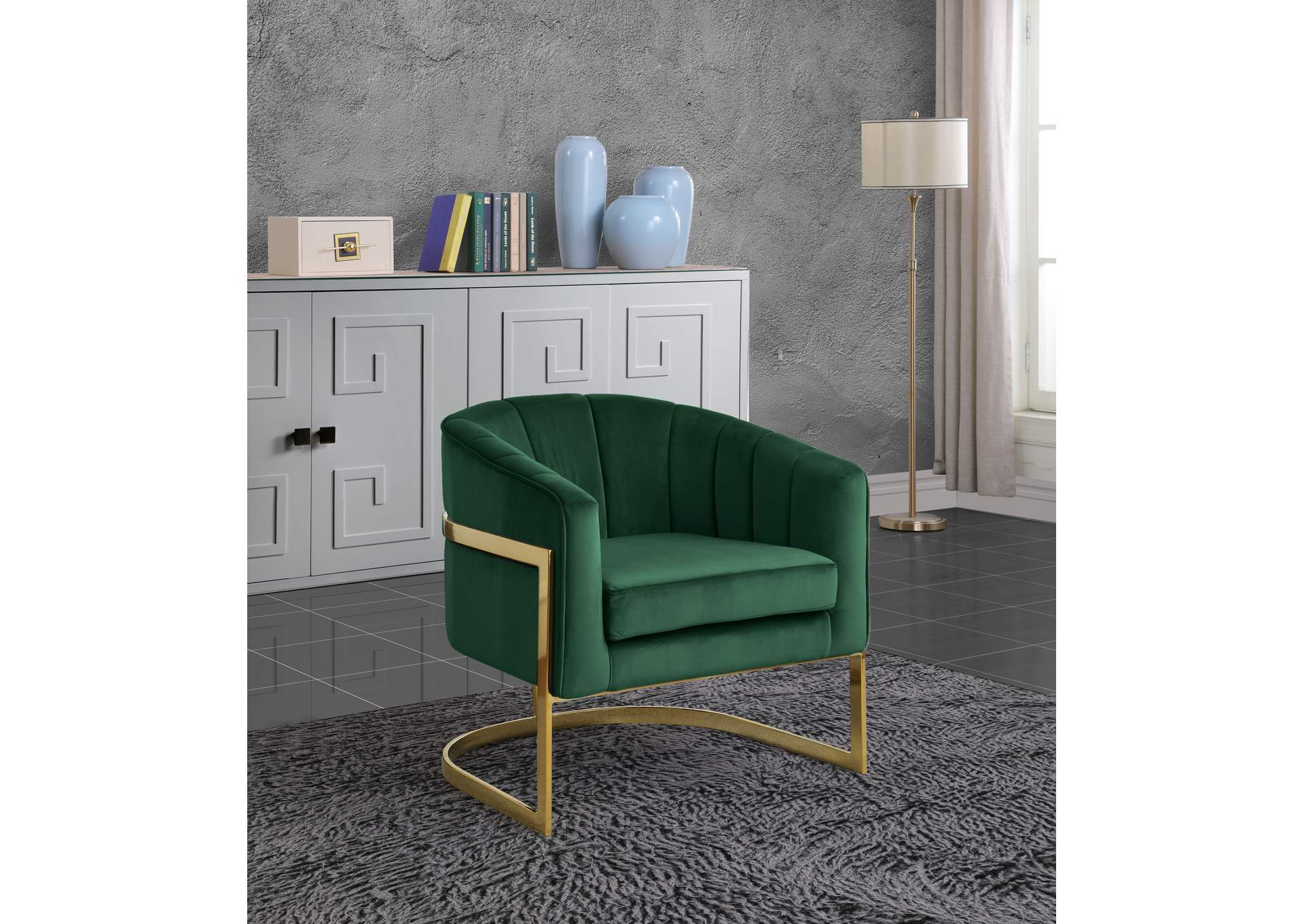 Outstanding Furniture Ville Bronx Ny Carter Green Velvet Accent Chair Machost Co Dining Chair Design Ideas Machostcouk