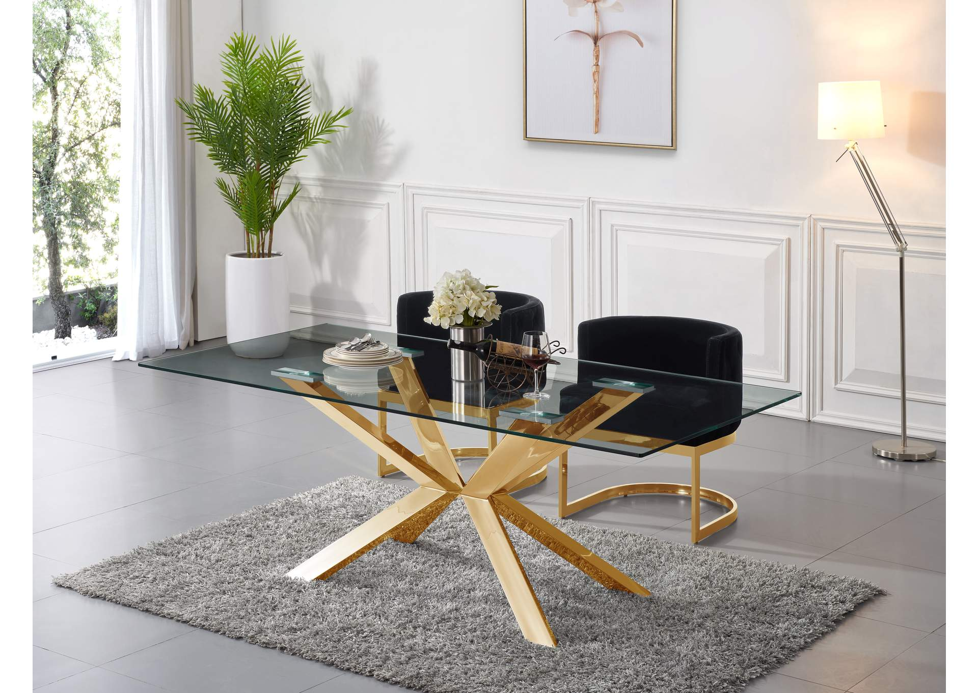 Meridian Furniture Dining Table