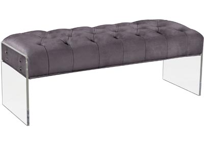 Image for Jane Grey Velvet Bench