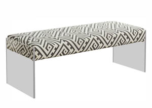 Lavo Black & White Bench