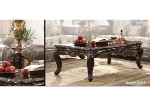 Rich Cherry Coffee Table