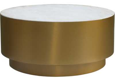 Presley Gold Coffee Table