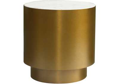 Presley Gold End Table