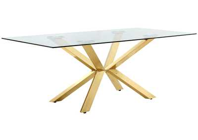 Capri Gold Dining Table