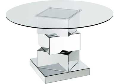 Image for Haven Chrome Dining Table
