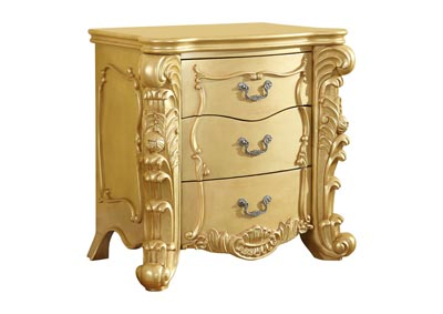 Zelda Gold Nightstand