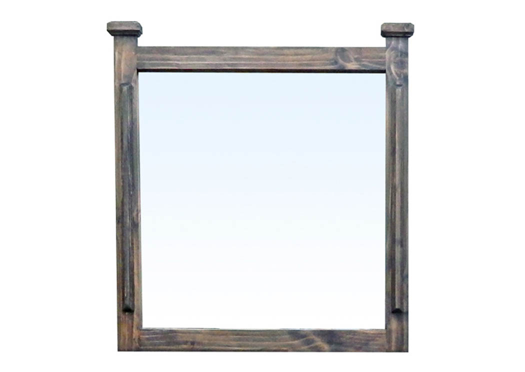 Medium Wax Budget Mirror,Million Dollar Rustic