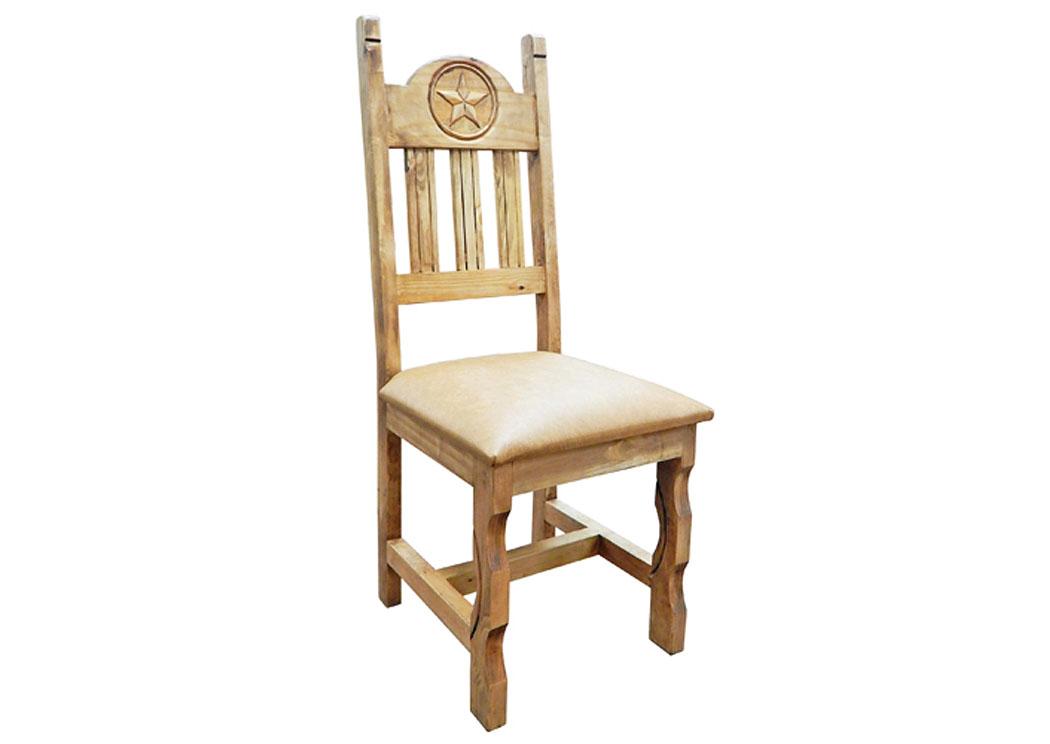 Vinyl Marble Star Chair,Million Dollar Rustic