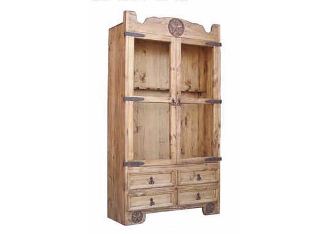 Gun Cabinet w/StarMillion Dollar Rustic  sc 1 st  Signature Home Furniture - Sherman TX & Signature Home Furniture Gun Cabinet w/Star
