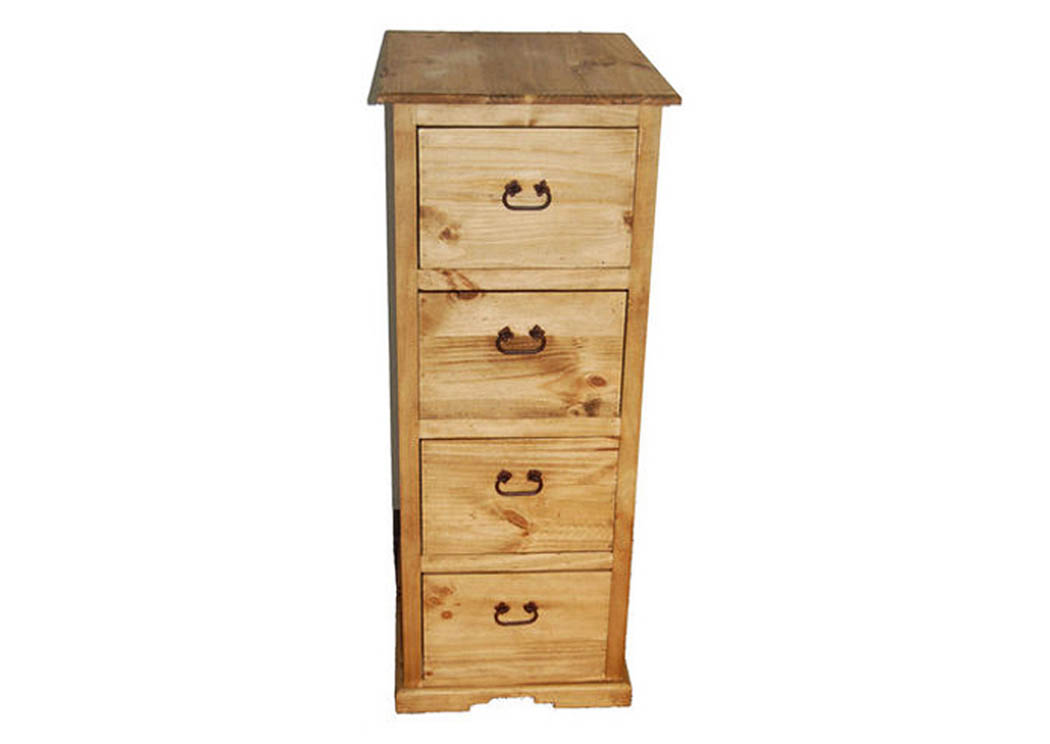 4 Drawer File Cabinet,Million Dollar Rustic