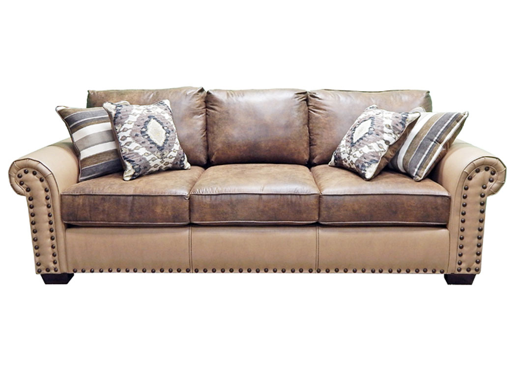 Sofa O-Mushhroom I-Copper,Million Dollar Rustic