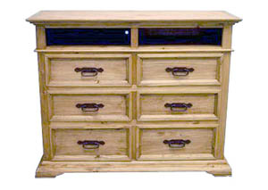 Mexia 6 Drawer TV Chest