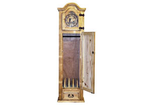 Gun Grandfather Clock w/5 Gun Capacity