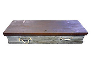 Gun Trunk Scraped Blue