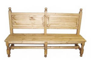 "Image for 60"" Standard Bench w/Back"
