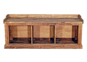 Image for 3 Shoe Storage Bench