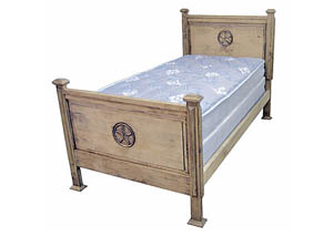 Promo Twin Bed w/Star