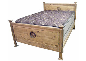 Promo Queen Bed w/Star