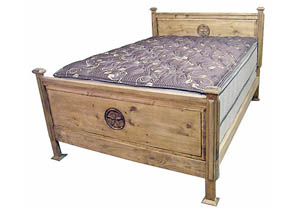 Promo King Bed w/Star