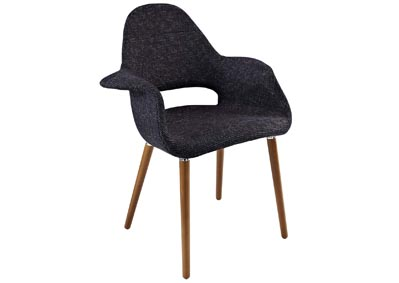 Image for Aegis Black Arm Dining Chair