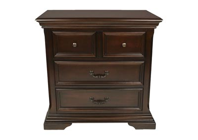 Timber City Sable 4-Drawer Nightstand