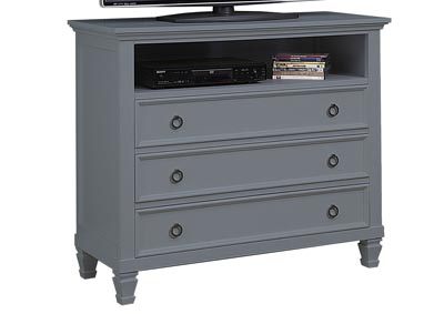 Tamarack Gray TV Console