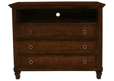 Tamarack Brown Cherry TV Console