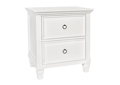 Tamarack White 2-Drawer Nightstand
