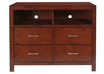 Kensington Burnished Cherry Media Chest