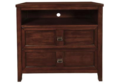 Ridgecrest Distressed Walnut Media Chest