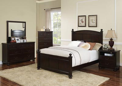 Canyon Ridge Chestnut Full Panel Bed