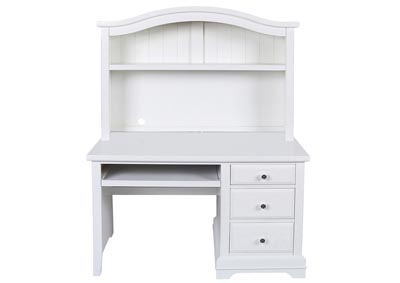 Bayfront White Desk