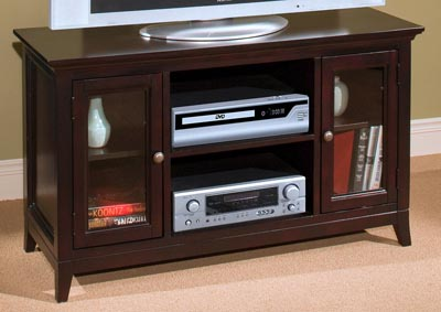 Franklin Park Espresso Small Entertainment Console
