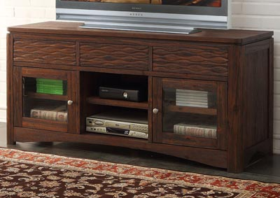 29 Palms Dark Brown Entertainment Console